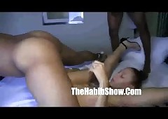 Mixed puerto Rican Ms.Natural Gangbanged hard by rome prankish 2