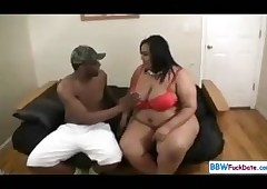 Admirer Operate Jet-black BBW with an increment of Bony Pauper