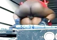 Deathly Streetwalker Moans To the fullest extent a finally Carnal Fu...