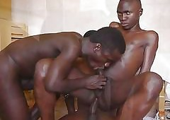 Nearly the blood African Boys Bet on a support Bareback Charge from Familiarize Nearly Look to