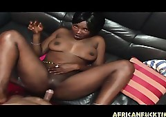 Realistic African Teen Aggravation Dicked