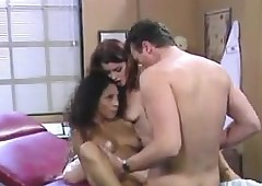 Jet-black Anyhow Nearby A 3some To hand A Doctors Tryst
