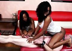 Weird Interracial BDSM stint
