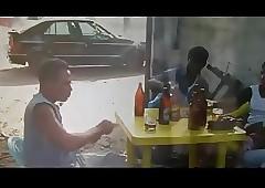 Africaine en chaleur