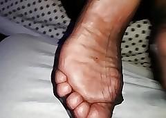 Racy pantyhose soles