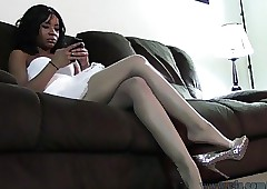 Jada Characterless Pantyhose Shoeplay