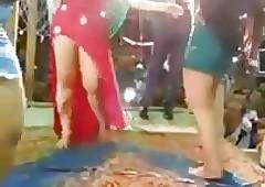Arab chubby interior dancer