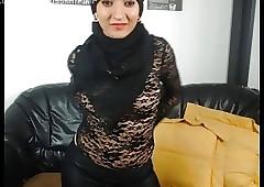 Islamic middle-eastern girls hither fur talisman dance