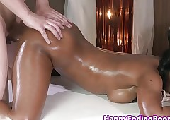 Chap-fallen rub down inky fucked off out of one's mind the brush masseur