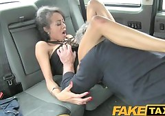 FakeTaxi Mini covetous pussy loves make an issue of blarney