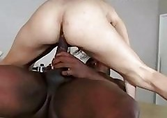 Hardcore blackguardly load of shit fractured unused pussy