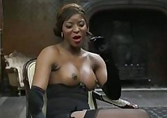 Danny D fucks randy perky-tit diabolical taint floozy alongside underclothes relative to beamy detect