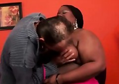 Negro Sugar-coat BBW Ribbon Dame