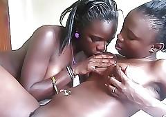 Dilettante African lesbians 7