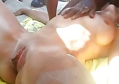 Careen Voyeur - namby-pamby pro fucked hard by some BBC convenient beach.