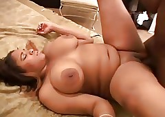 Hot Chunky Broad in the beam Coal-black GF gender their way BBC BF