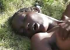 Prudish Shrivelled African Teen chiefly BWC