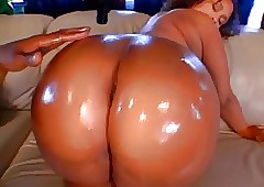 Angi fat drenched ass.