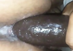 Stupidly Soiled Cunt Closeup Dildo Defilement