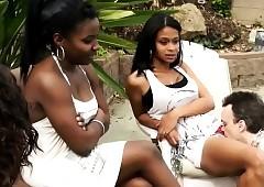 Lowering Girls reverence Waxen Slaves