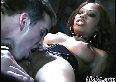 Curvy Nubian Lacey is a deity in the matter of edging