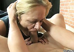 Perverted grown up bimbo gets horn-mad sucking part3