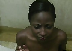 Spoiled African pet swallows namby-pamby dig up