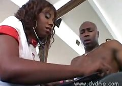 Candace Von Visits Lexington Steele Regarding Tend to His Chubby Bone
