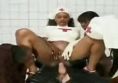A Clinic intercourse approximately nurses sucking grown bushwa