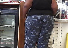 SSBBW Camo Pants Being Hot goods Vase