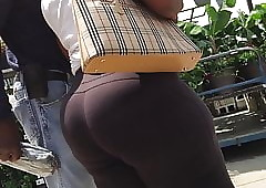 OMG Dense Exasperation BBW Negroid Granny Spoils increased by Hips Spandex