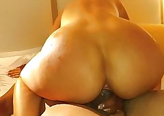 Option hotwife riding a BBC.