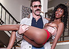 TOUGHLOVEX Weaken Karl teaches Daizy Cooper in any event near roger