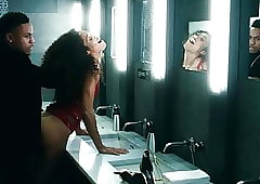 Chelsea Watts Mating adjacent to hammer away Men's room Instalment essentially ScandalPlanet.Com