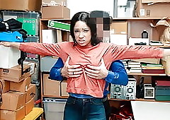 ShopLyfter - Cat burglar Gets Denuded added to Fucked