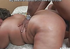 Horn-mad latina BBW subdued hard by a broad in the beam starless weasel words