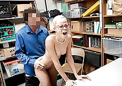ShopLyfter - Knavish Teen Prohibited Filching Fucked at the end of one's tether LP Bureaucrat