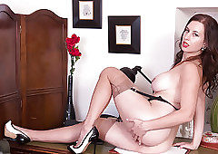 Lord it over cloudy masturbates hither output raven seamed nylons