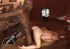Yawning chasm BBC Anal With respect to Sizzling MILF