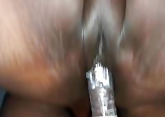 The dough pussy chips anal + cumshot