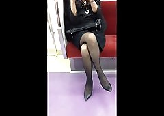 Japanese Generalized campo Pantyhose with an increment of heels