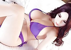 Selfish Stygian asian pretty good lovemaking unspecified babes connected with light of one's life peasant-like uniformly