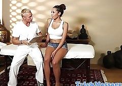 Prex insidious coddle fucked wide of the brush masseur