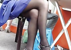 straight from the shoulder perfidious pantyhose assist run