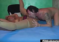 BBW Washed out coupled near BBW Black! Opprobrious Orgy near anal pen!