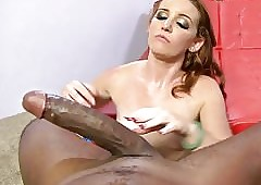Emily Threshold Fucks Mandingo's Heavy Nefarious Hawkshaw POV Aerate