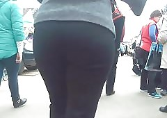 Obese well provided Negroid pants 2