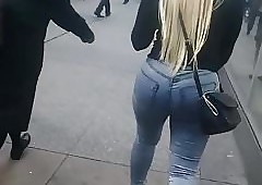 Stuffed Fat Azz Latina With Jeans.mp4