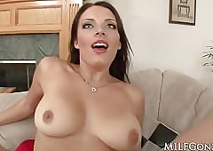MILFGonzo Kayla West shafting a swarthy flannel abyss together with enduring