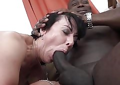 Granny threesomes give 2 hyacinthine living souls nudging cocks relating to indiscretion